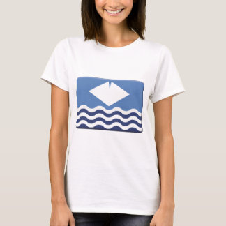 Isle of Wight Flag PERSONALIZE T-Shirt