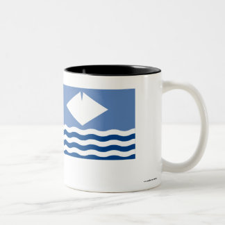 Isle of Wight Flag Two-Tone Coffee Mug