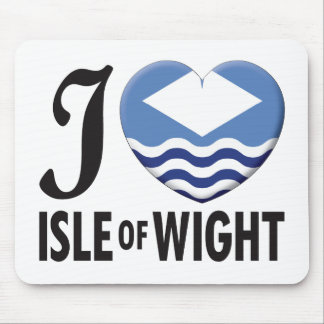 Isle of Wight Love Mouse Mat