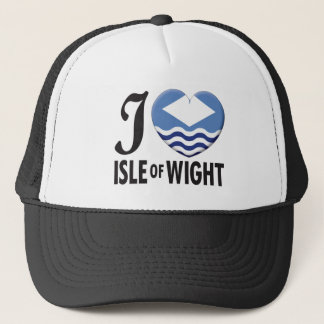 Isle of Wight Love Trucker Hat