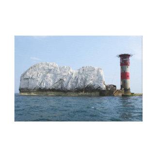 Isle of Wight - Needles Canvas Print
