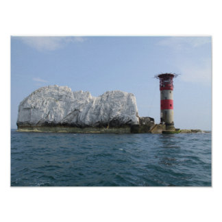 Isle of Wight - Needles Poster