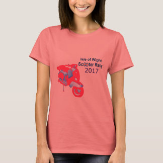Isle of Wight Scooter Rally 2017 Women's T-Shirt