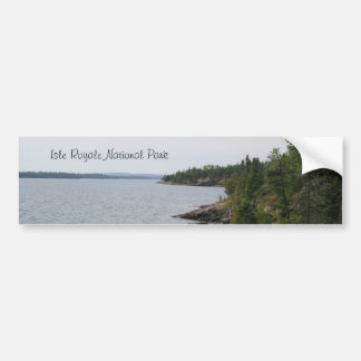 Isle Royale National Park Bumper Sticker