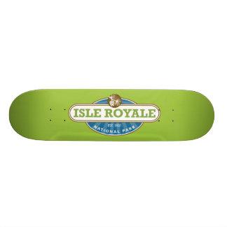 Isle Royale National Park - Michigan 21.6 Cm Skateboard Deck