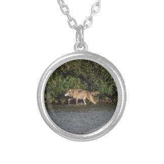 isle royale wolf pendant