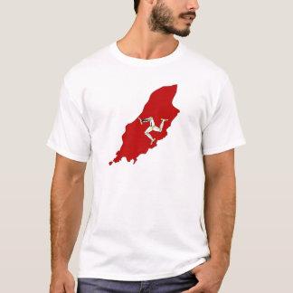 Isleofman flag map T-Shirt