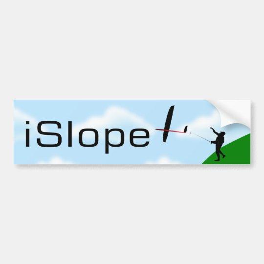 iSlope R/C Slope Soaring Bumper Sticker