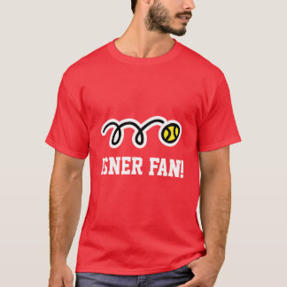 Isner fan tennis t-shirt for men women kids