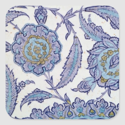 Isnik earthenware tile, c.1520-50 stickers