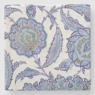 Isnik earthenware tile, c.1520-50 stone coaster