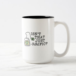 Isn't That Just Tea-rrific Two-Tone Coffee Mug