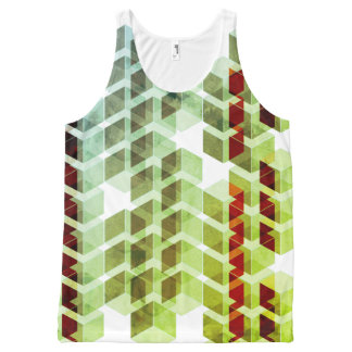 ISO-Series-Green All-Over Print Tank Top