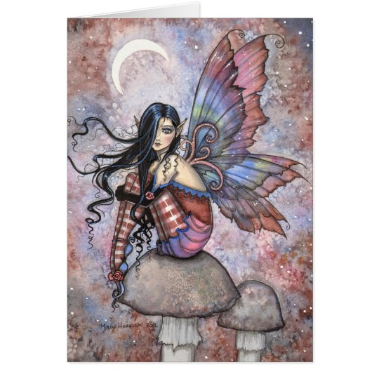 Isobel the Introvert Fairy Fantasy Art Card