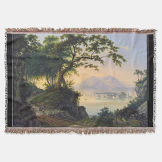 Isola Bella Beautiful Island Italy Throw Blanket