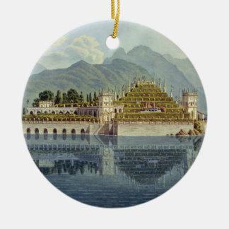 Isola Bella, Lake Maggiore: the terraced gardens, Christmas Ornament