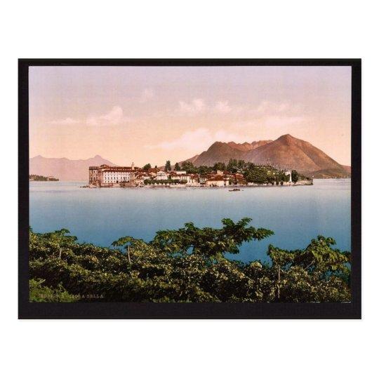 Isola Bella, Maggiore, Lake of, Italy vintage Phot Postcard