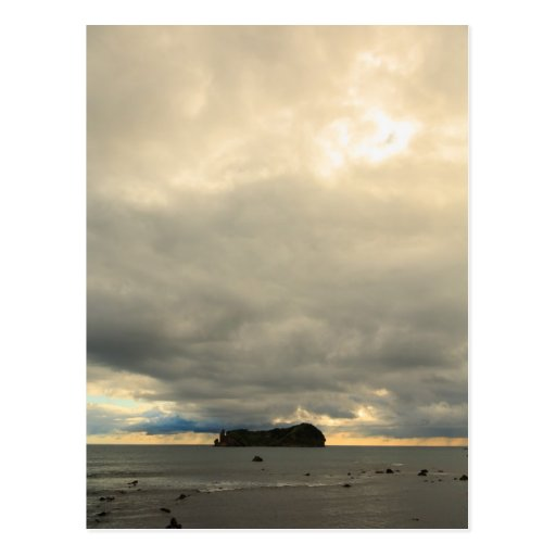 Isolated island post card