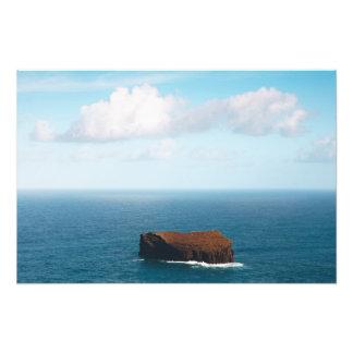 Isolated islet art photo