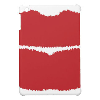 Isolated Lip Kiss iPad Mini Covers