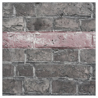 isolated red line wall