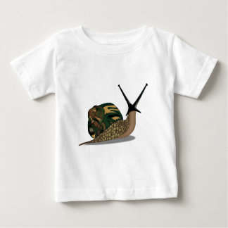Isolated Snail Baby T-Shirt