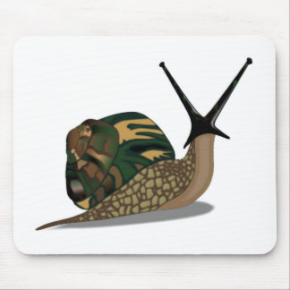 Isolated Snail Mouse Pad