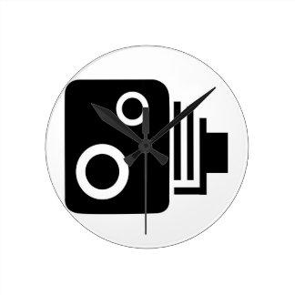 Isolated Speed Camera Clock
