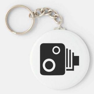 Isolated Speed Camera Key Ring