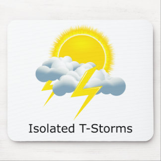 Isolated T-Storms Mouse Pad
