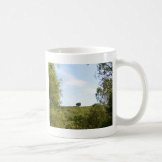 Isolated Trees OnThe Ridge Basic White Mug