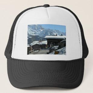 58ae1082930de7 Isolfluh, village in the Jungfrau region Trucker Hat