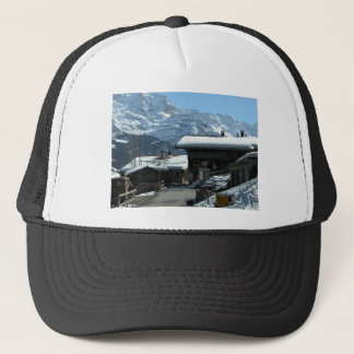 Isolfluh, village in the Jungfrau region Trucker Hat