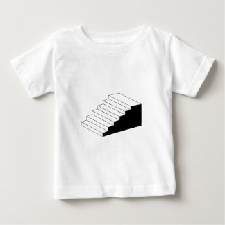 Isometric object stair- architectural 3d object tee shirt