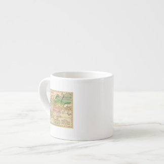 Isothermal chart, productions espresso cup