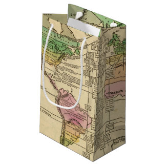 Isothermal chart, productions small gift bag