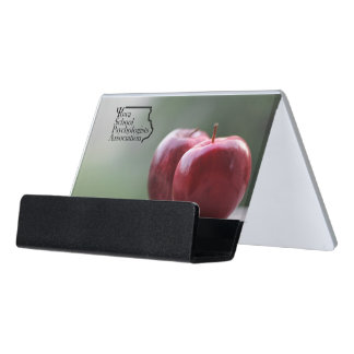 ISPA Logo School Psychologist Business Card Holder