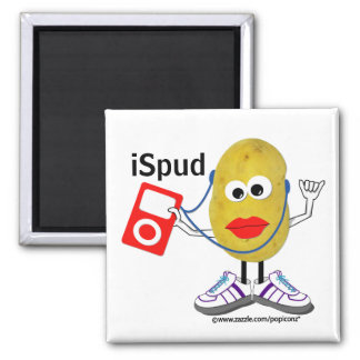 'ispud' humorous parody Magnet