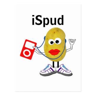 'iSpud' humorous parody Postcard