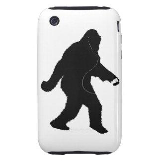 iSquatch (Add Background Color) iPhone 3 Tough Case