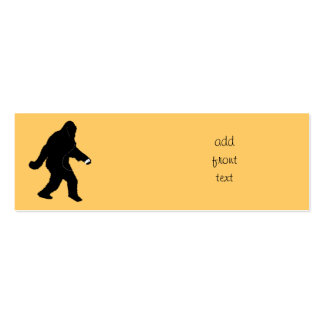 iSquatch (Change Background Color) Business Card Templates