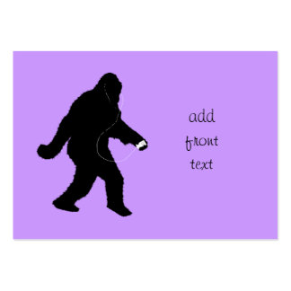 iSquatch (Change Background Color) Pack Of Chubby Business Cards