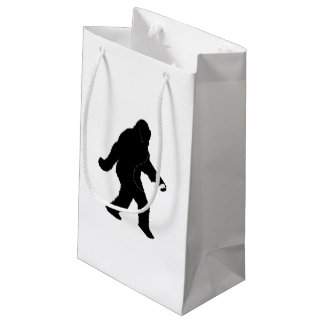 iSquatch ( Customise Background Colour) Small Gift Bag