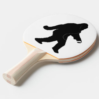 iSquatch ( Customize Background Color) Ping Pong Paddle