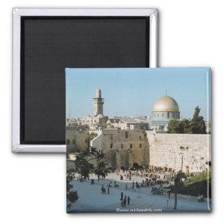 Israel 19 square magnet