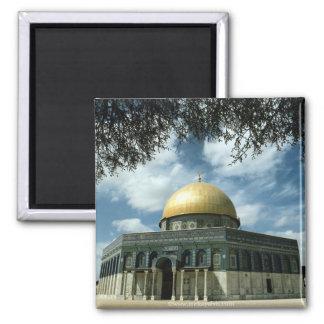 Israel 39 square magnet