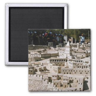 Israel 66 square magnet