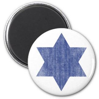 ISRAEL 6 CM ROUND MAGNET
