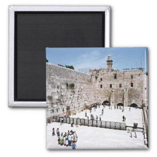 Israel 98 square magnet