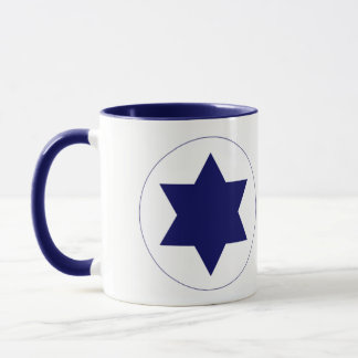 Israel Air Force Roundel Mug